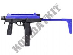 MP9A1 Electric AEG SubMachine  Airsoft BB Gun Black and Blue